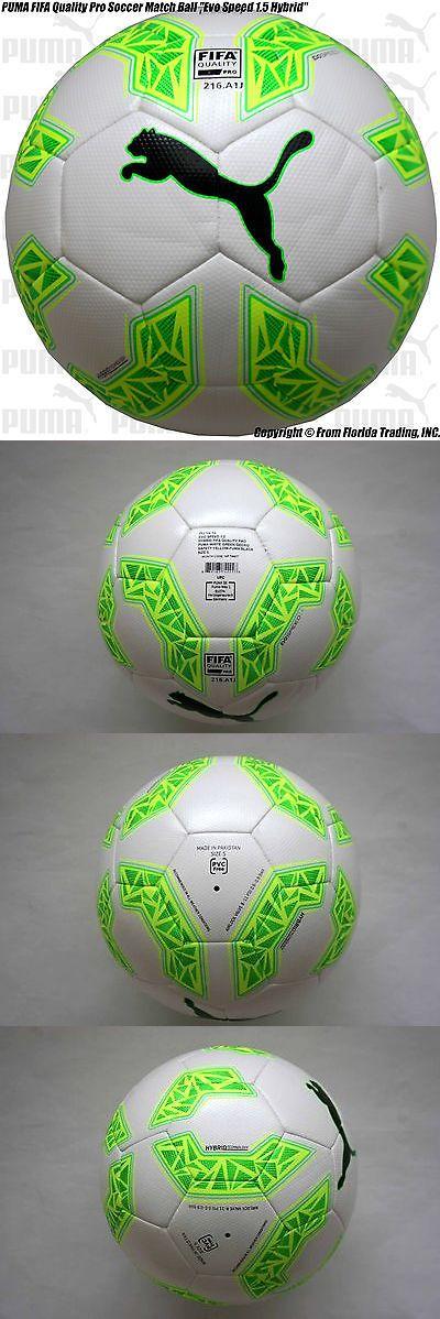 Balls 20863: Puma Fifa Quality Pro Soccer Match Ball Evo Speed 1.5 Hybrid (5)White 082706-04 -> BUY IT NOW ONLY: $54.99 on eBay!