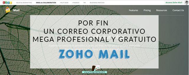 Encantada de compartir con vosotros la manera de tener un correo corporativo, profesional y gratuito con Zoho Mail.