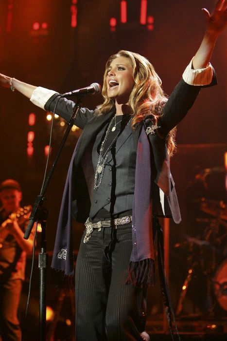 Faith Hill, is a country musician who has sold more than 40 million records with eight No. 1 singles and three No. 1 albums. #Praise