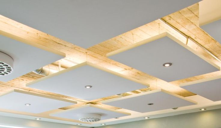 Acoustic drop ceiling