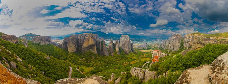 Meteora, Greece  - If you use this image, please post a link to your Facebook page in the comments and/or Like my page at www.facebook.com/pixntxt - You can check out my reasons for releasing these covers under Creative Commons at my blog: http://blog.pixntxt.com/2012/10/01/what-would-trey-ratcliff-do-post-free-facebook-timeline-images-thats-what/
