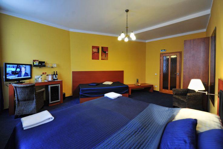 Třílůžkový pokoj typu standard