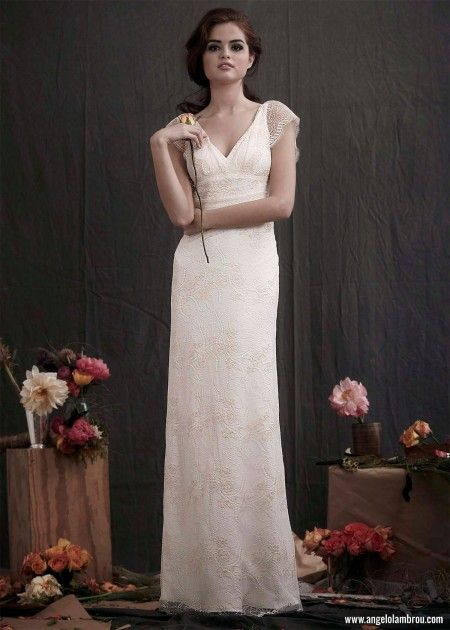 Anette Wedding Gown by Angelo Lambrou
