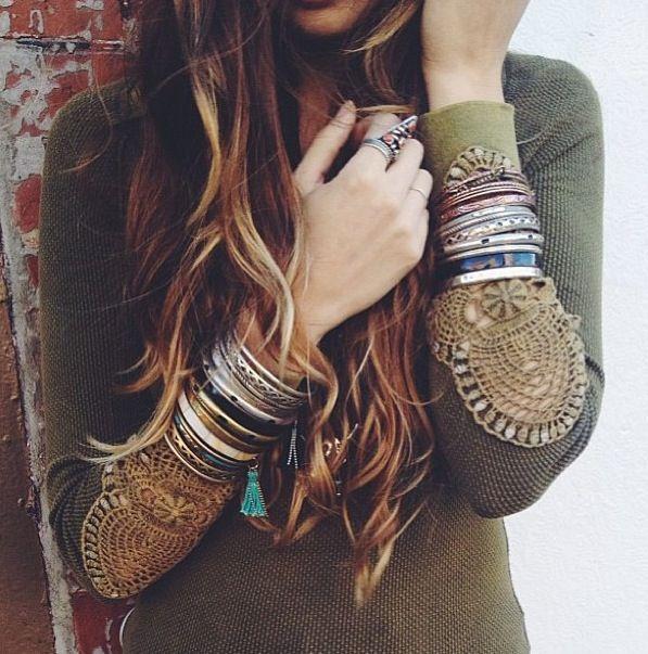 Lovely: hippy chic