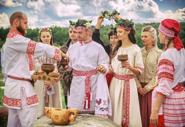 Slavic wedding