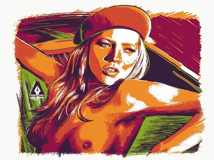 An illustration for highly special and unique woman. Kate Moss #katemoss #perfectwoman #model #diva #bosslady #artwork  #artofyasin #adobeart #adobeillustrator #adobedraw #vectordrawing #90s #digitalart #digitalillustration #ipadproart #fanart #instaart #love #peace #keepfollow