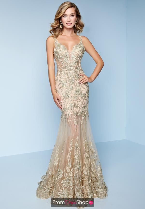 5ac8f79d1d78c Splash Lace Fitted Dress K228 | Gold/Nude Dresses | Dresses, Fashion ...