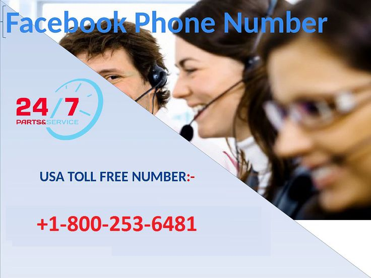 how to get 1800 number on facebook