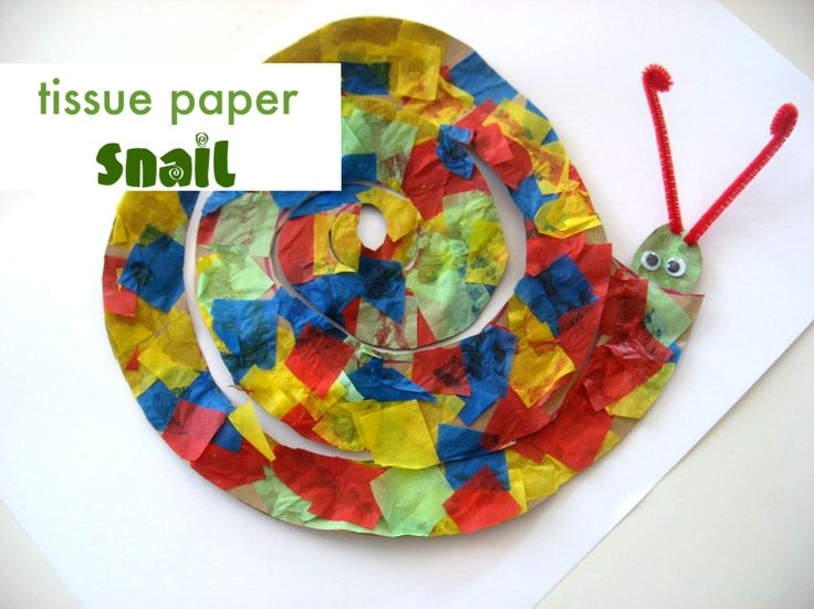 Snail Craft...No time for Flash Cards.  Smaller and some changes.