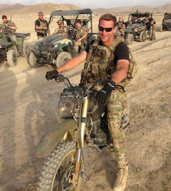 U.S. Army Special Forces soldier and Veterinarian Lt. Col. Stephen Goldsmith