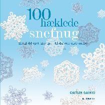 100 hæklede snefnug