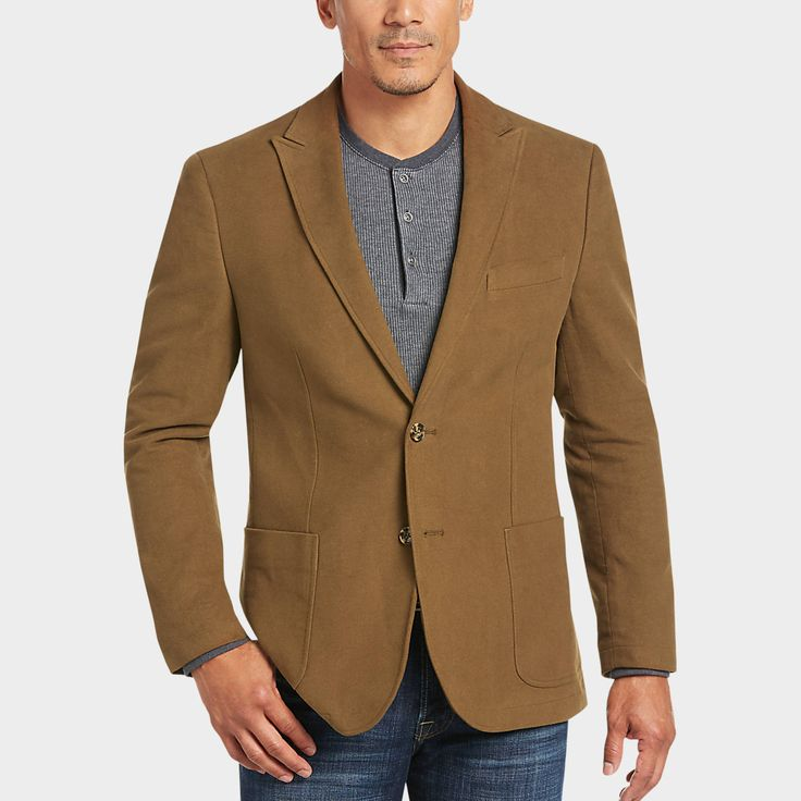 Buy a Joseph Abboud Tan Modern Fit Moleskin Casual Coats online at Men's Wearhouse. See the latest styles of men's Casual Coats. FREE Shipping on orders $50+.