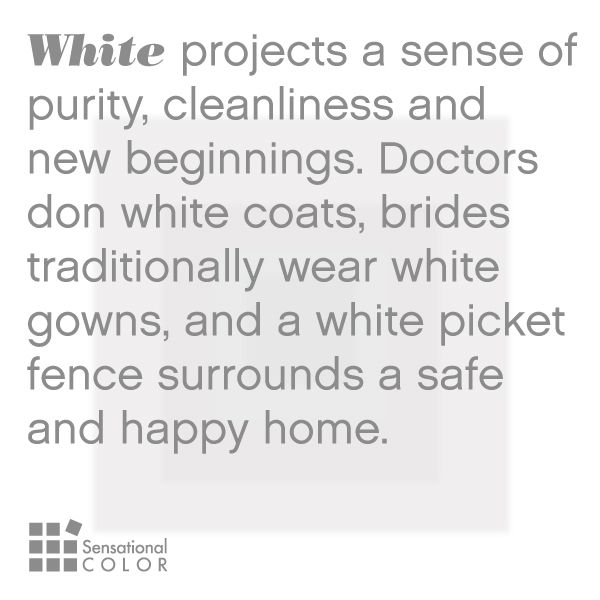 Meaning Of The Color White