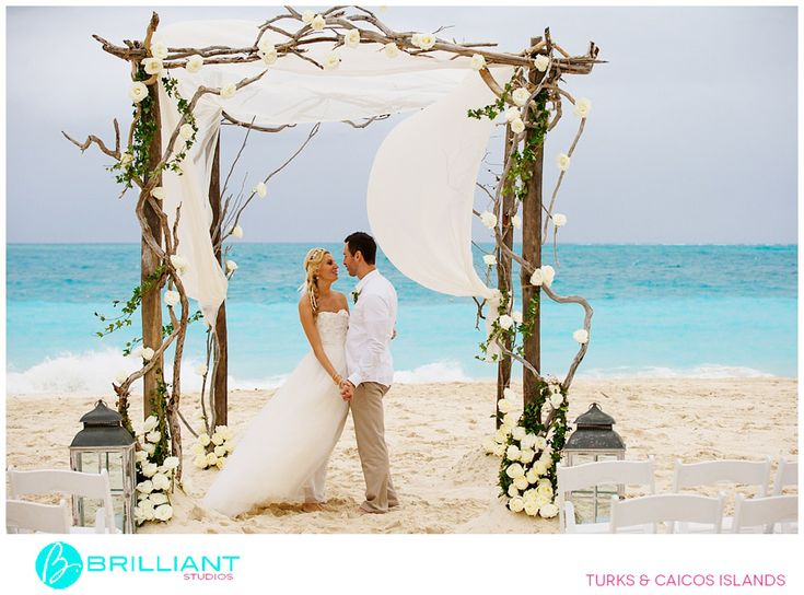 4 post driftwood arch by Stacie Steensland, Turks and Caicos Islands, image by Brilliant