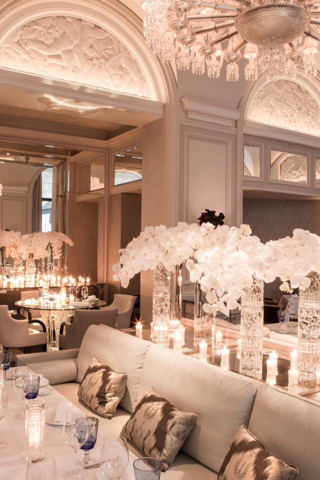 Four Seasons Hotel George V Paris (new restaurant Le George)