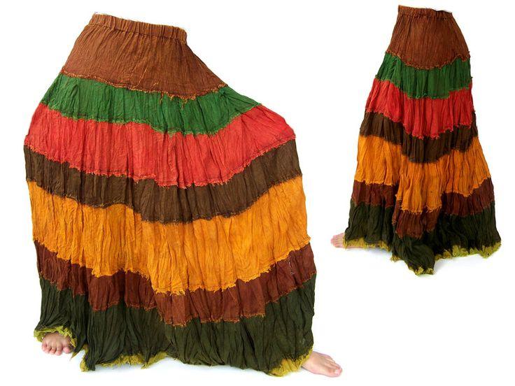 Rok,+Hippie+Style,+etnische+stijl,+uniek+van+Siamrose+op+DaWanda.com