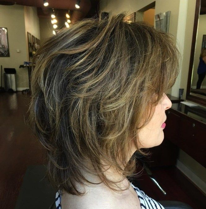 50 Beste Variationen eines mittleren Shag-Haarschnitts für Ihren unverwechselbaren Stil   – Lori Hinkle