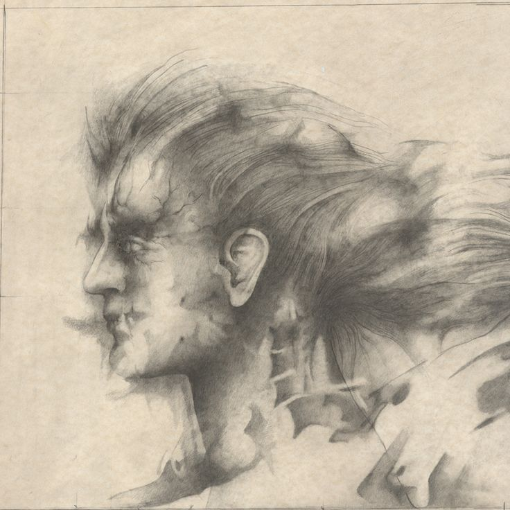 Alessandro De Michele, Teste, matita su carta, 70x50 cm ale_demichele@yahoo.it