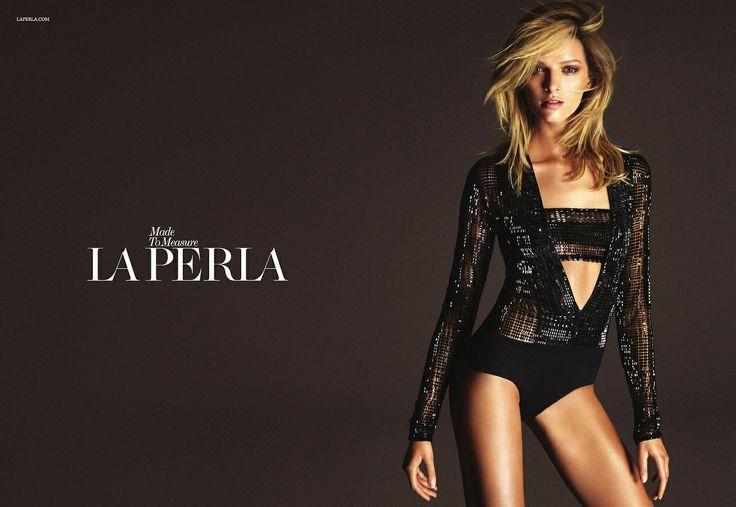 La Perla Fall/Winter Made to Measure Advertorial Campaign with Daria Strokous.