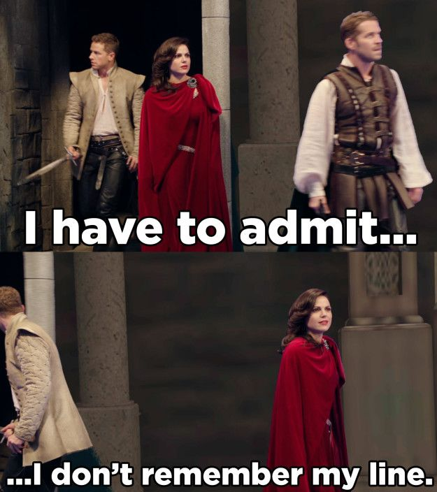 There are just so many delightful moments. From Lana Parrilla forgetting her lines...