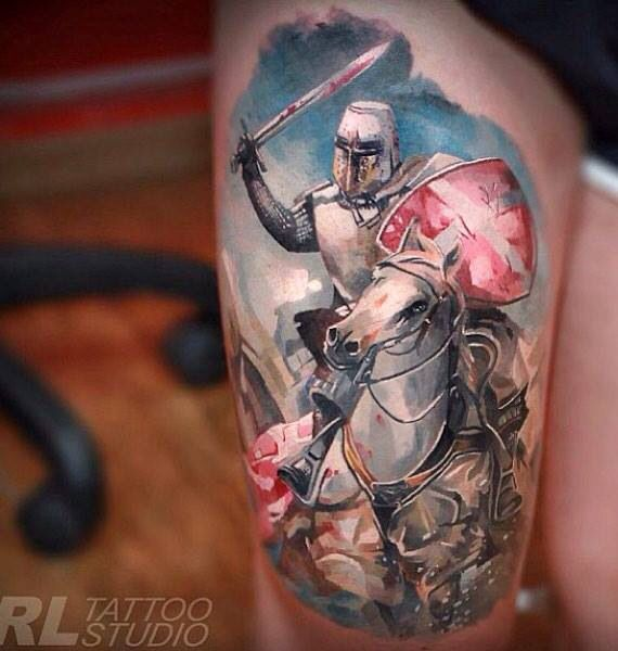Tattoo Woman Knight: 1000+ Images About Tattoos On Pinterest