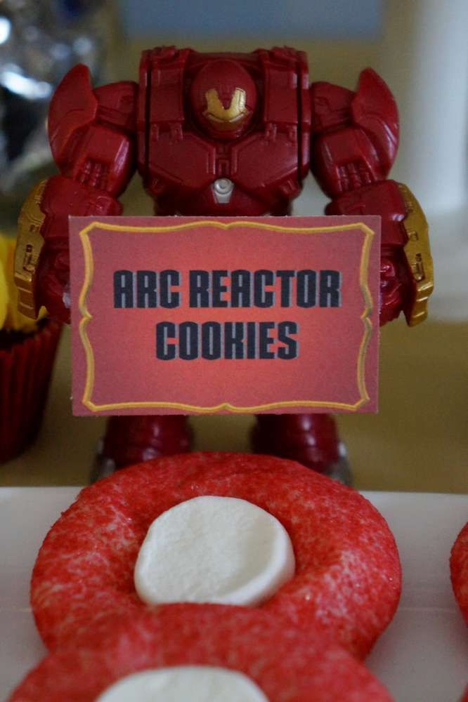 Zack's Iron Man Birthday Party | CatchMyParty.com