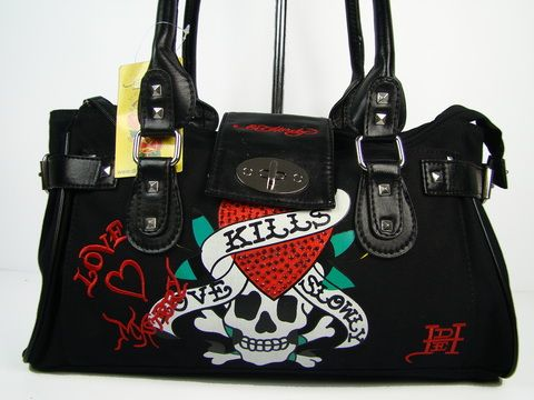 Ed Hardy bag I love it
