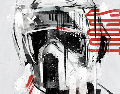 """Check out new work on my @Behance portfolio: """"STAR WARS"""" http://be.net/gallery/35330603/STAR-WARS"""