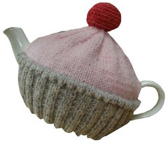 'Fairy Cake' Tea Cosy  Hand knitted in Peru just for you, ethically of course!