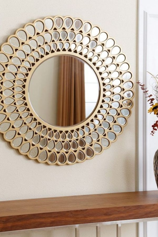 Clever Decor Ideas For Large Wall Selections Mirror Design Wall Mirror Wall Living Room Mirror Wall Decor