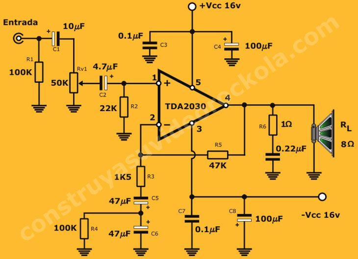 diagrama amplificador | Amplificador
