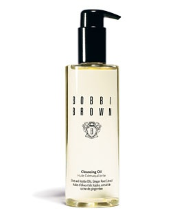 Bobbi Brown's Cleansing Oil - great for this time of year. It easily takes off eye makeup.  It's quite incredibly. I love the scent too. :) ( you can ask for samples)