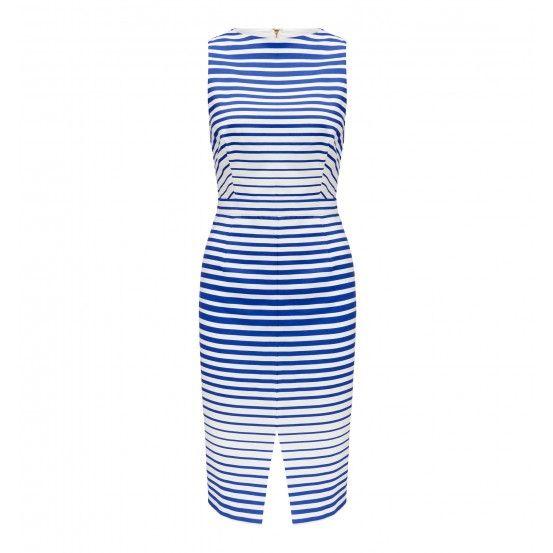 Jane stripe front dress