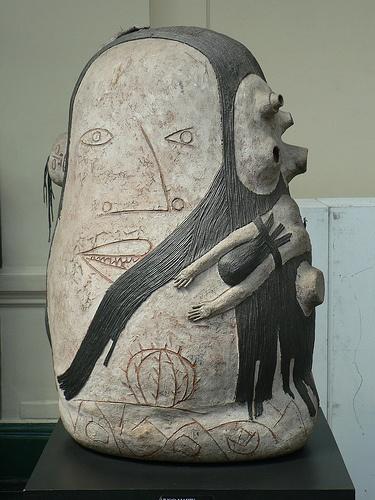 Art in the Chilean Art Museum :) Soo bomb.