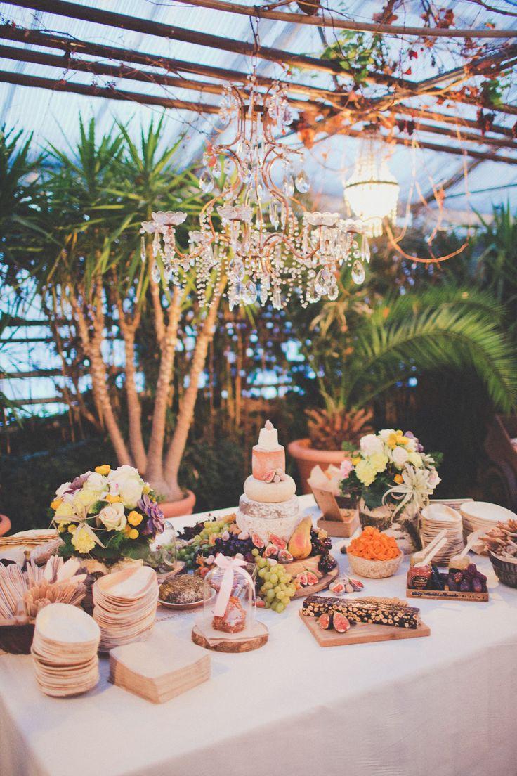 wedding cheese buffet