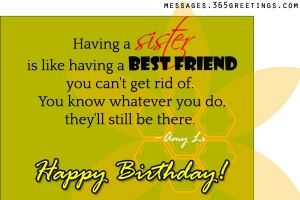 sister-birthday-wishes - Messages, Wordings and Gift Ideas
