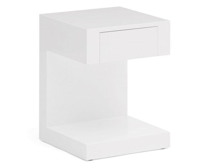 MIO - End table - White