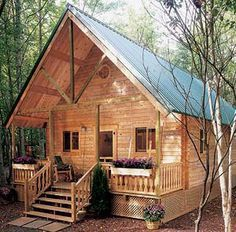 Build This Cozy Cabin For Under$4000:: would so love to have this cabin.