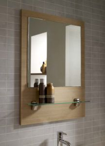 maple wood framed bathroom mirrors - Wood Framed Bathroom Mirrors