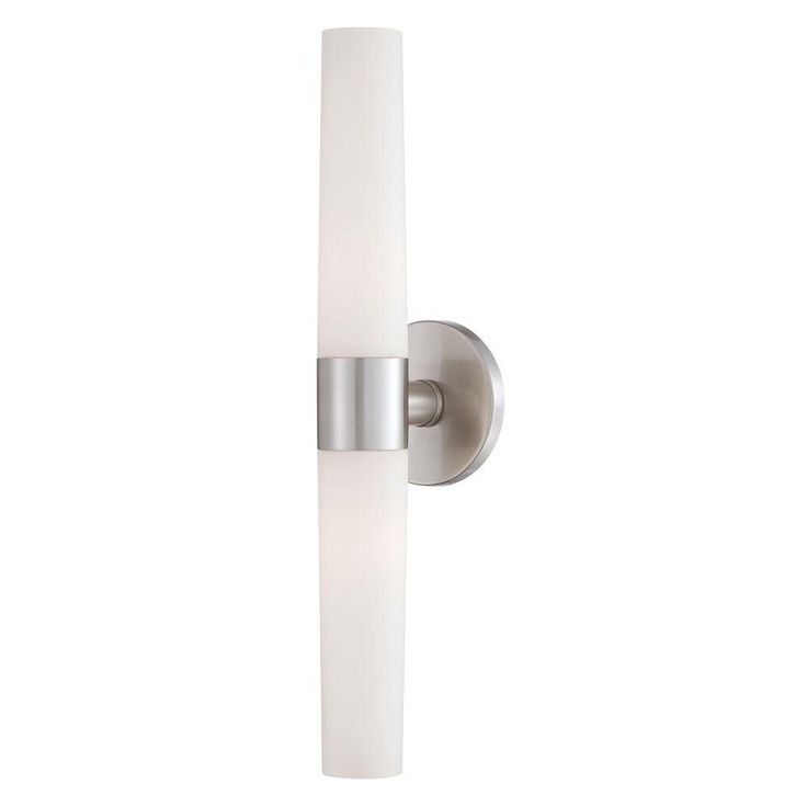 Pic On Eurofase Vesper Collection Light Brushed Nickel Wall Sconce