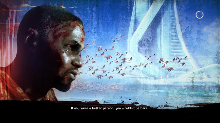 Spec Ops: The Line's loading screens are without equal.