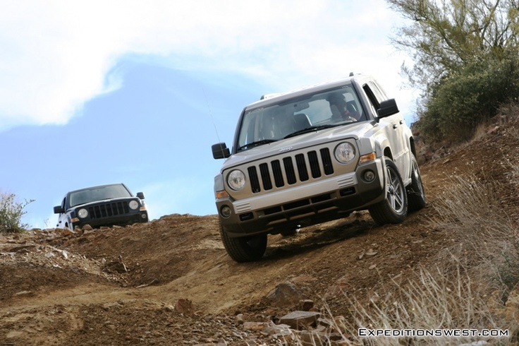jeep patriot review off road test trips and getting. Black Bedroom Furniture Sets. Home Design Ideas