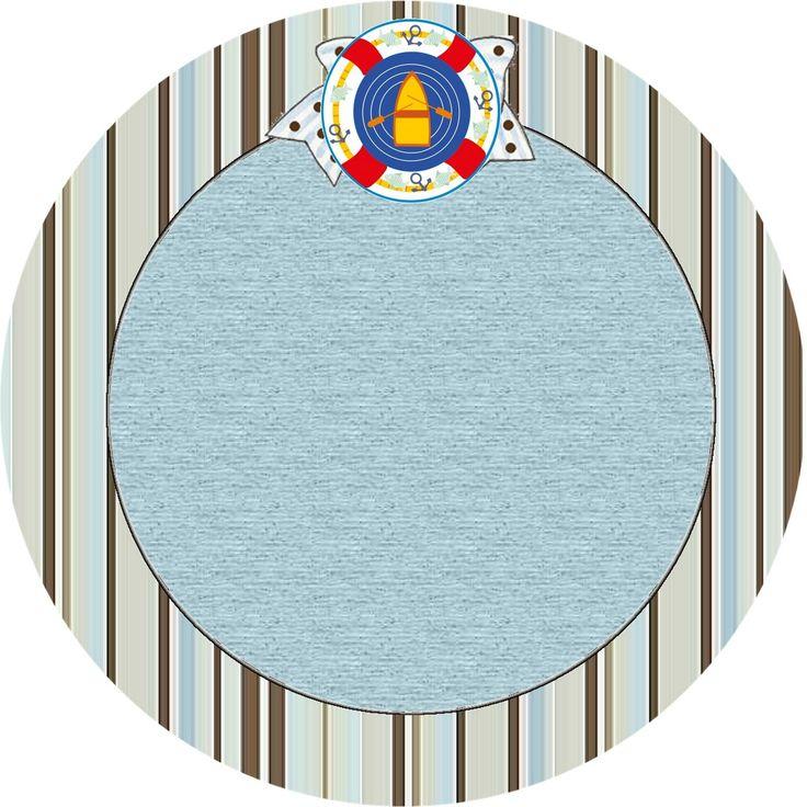 Nautical Round Labels
