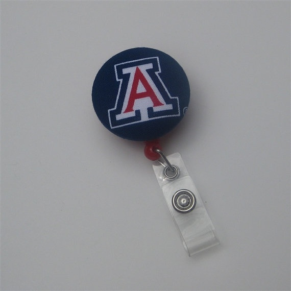 Univeristy of Arizona Wildcats Retractable Reel by LydibugDesigns, $4.99