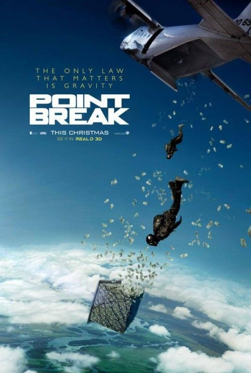 Point Break 2015. Looks like it's going to be great, to me.