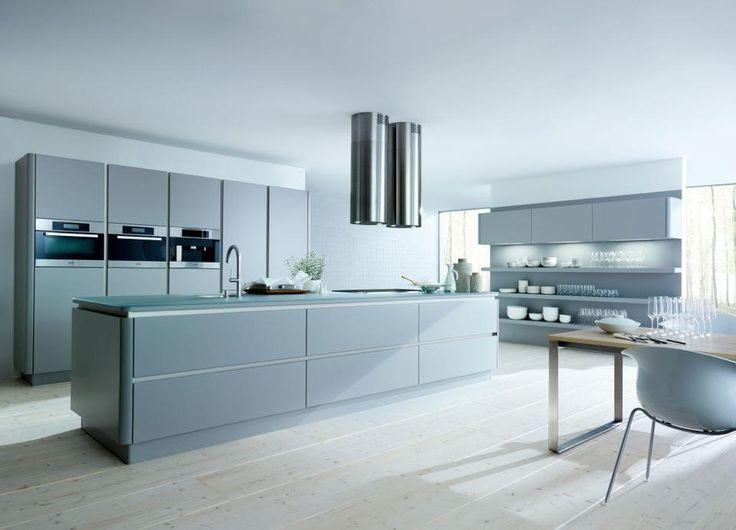 Next 125 kitchen, Grey sleek and fabulous! #schuller #butlerinteriors