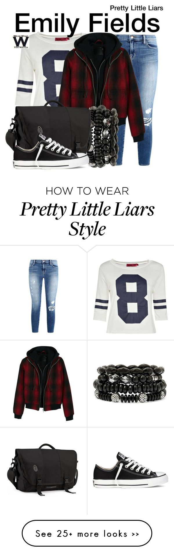 """Pretty Little Liars"" by wearwhatyouwatch on Polyvore"