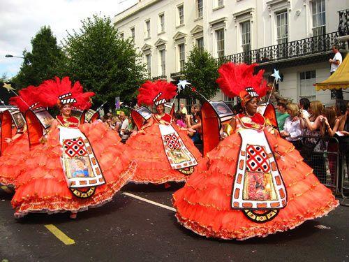 Carnaval Notting Hill  Celebrado en Inglaterra desde los años 70.