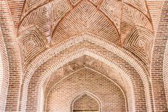 Islamic Iranian architecture - Ardabil Stock Photo