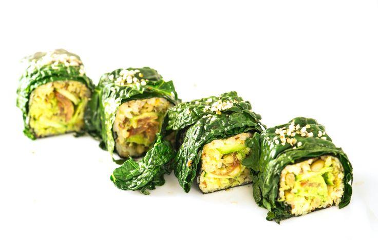 stir-fry kale maki